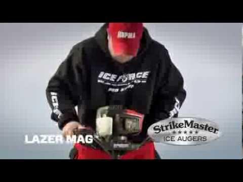 StrikeMaster® Lazer Mag™ Auger - YouTube