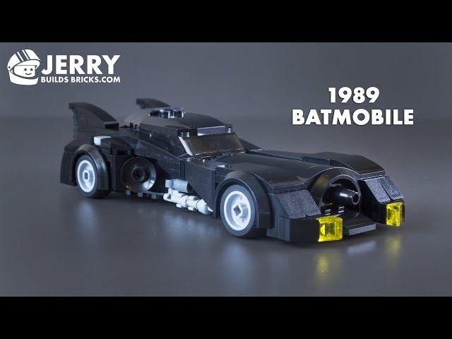 How To Build A Lego Batmobile From Tim Burtons 1989 Batman Movie