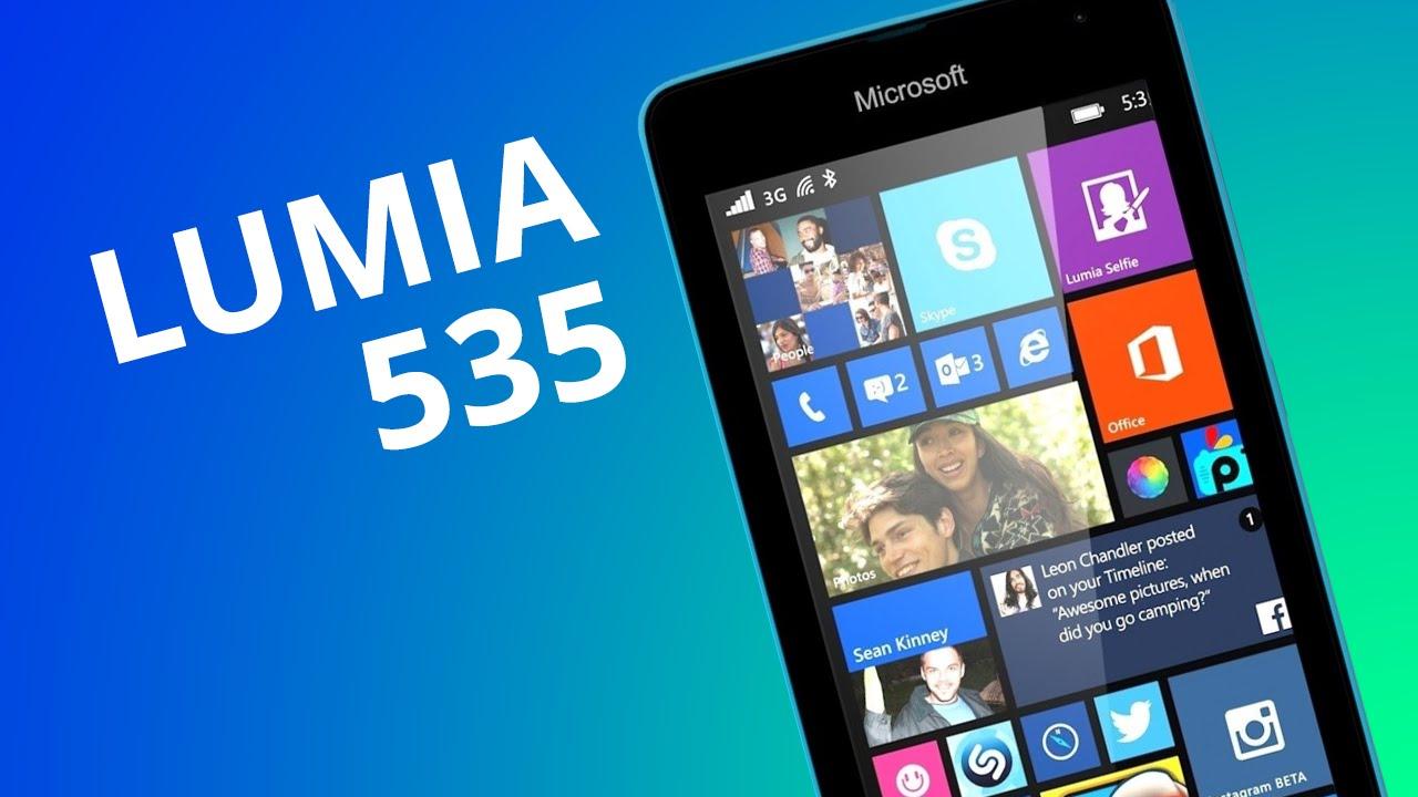 22a6bfa6aa9 Microsoft Lumia 535: um smartphone básico que vale a pena [Análise] -  Vídeos - Canaltech