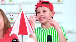 Детский Челлендж Чемпион обеда 2 от Макса и Кати