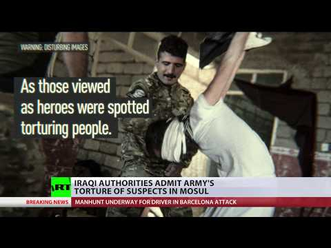 Raping & Killing: Iraqi authorities admit army's torture of suspects in Mosul (DISTURBING CONTENT)