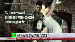 Raping Killing Iraqi Authorities Admit Armys Torture Of Suspects In Mosul Disturbing Content