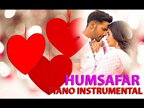 Humsafar piano sad instrumental karaoke | Badrinath Ki Dulhania | Sm studio