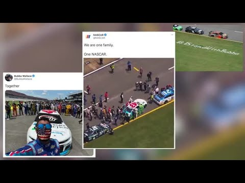 NASCAR rallies around Bubba Wallace after noose incident at Talladega