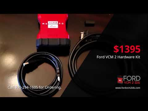 Ford VCM 2 IDS OEM Tool Review