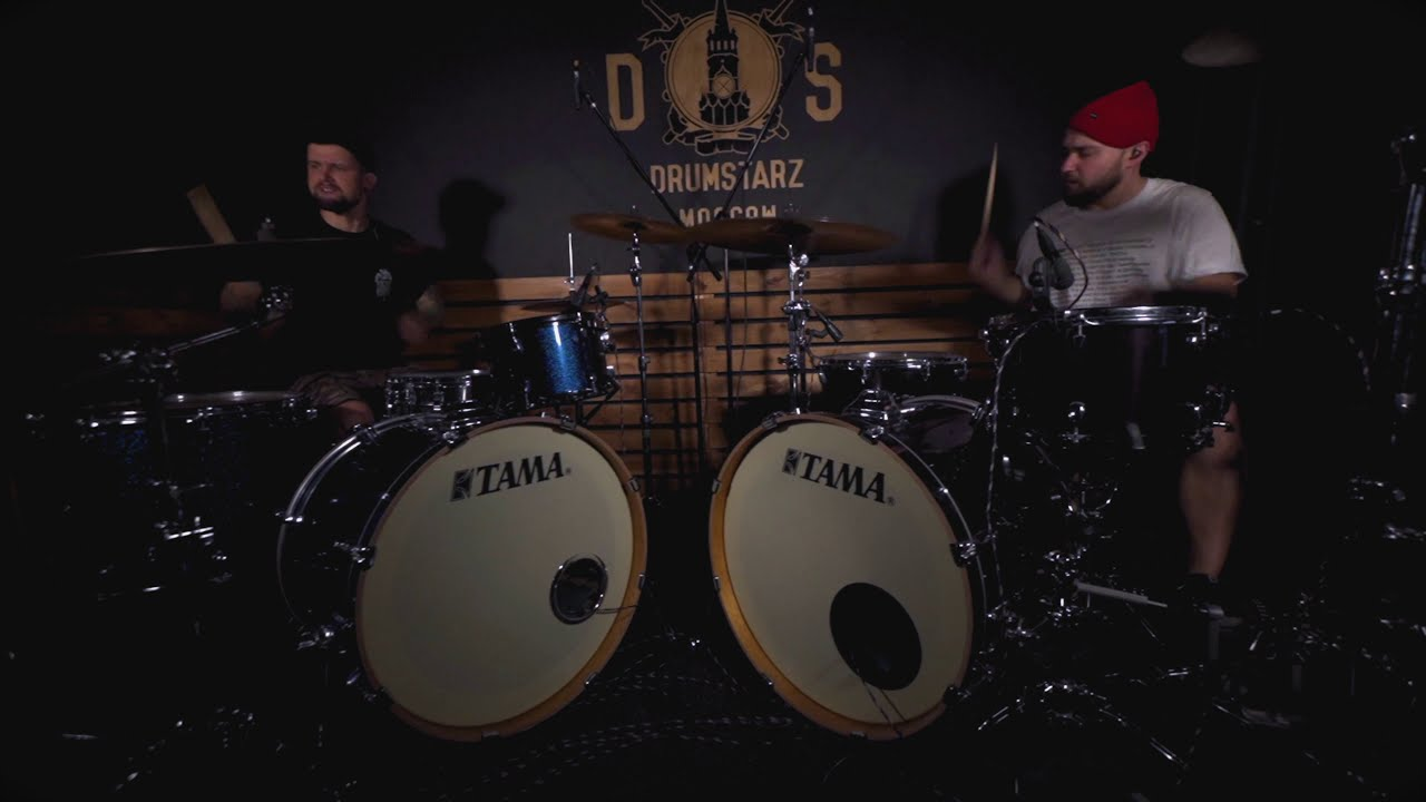 Norma Jean - The Planet: Double drum cover