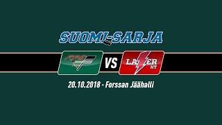 SUOMI-SARJA 2018-2019: 20.10.2018 FPS - Laser HT 2-0