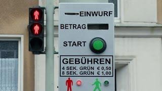 Платный светофор в Германии. 26.12.2016