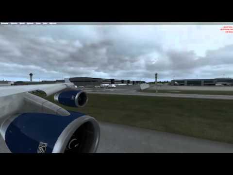 Live Stream P3D iFly 747 British Airways from Toronto to Ottawa