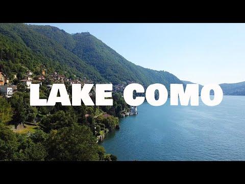 Lago di Como 4K drone │ Lake Como, Italy