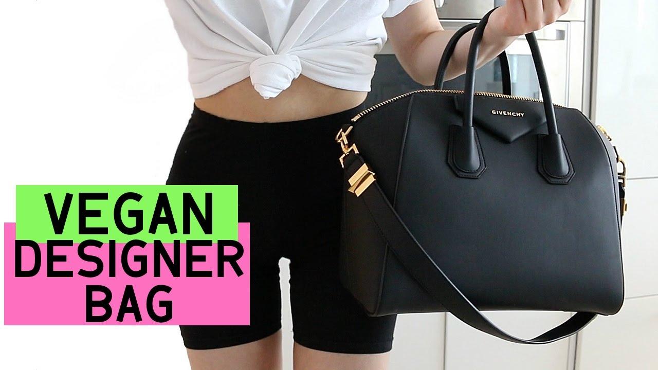 e03fc60c6169 My 1st Vegan Designer Bag Unboxing! - YouTube
