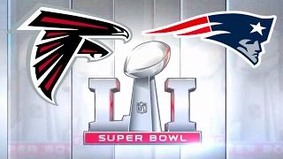 Super Bowl 51 LI Atlanta Falcons vs New England Patriots Madden NFL 17 2017