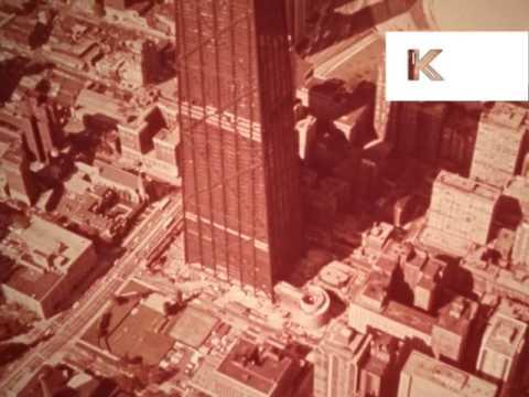 1969 John Hancock Center Chicago, Skyscraper, Construction