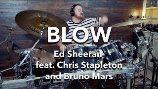 Ed Sheeran - BLOW feat. Chris Stapleton and Bruno Mars || MeDrumNow (Drum Cover) Video