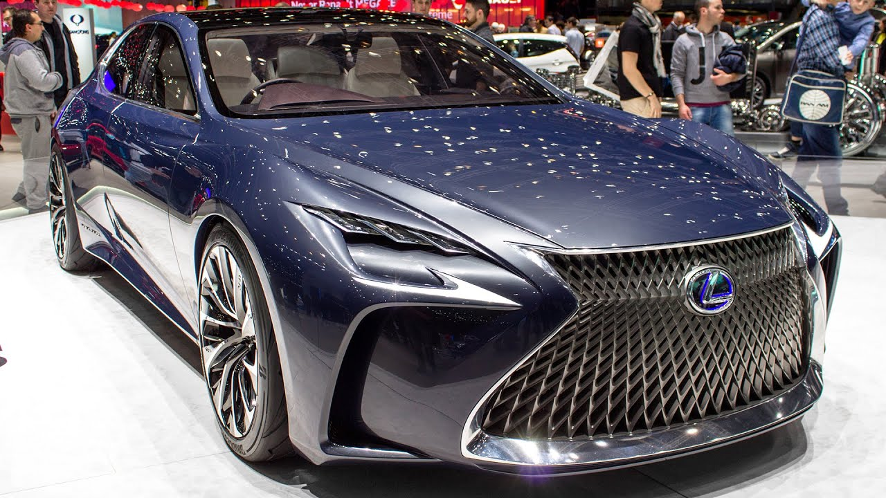Lexus Lf Lc Concept Geneva Motor Show 2016 Hq Youtube Single Phase Wiring Diagrams Car Release Date