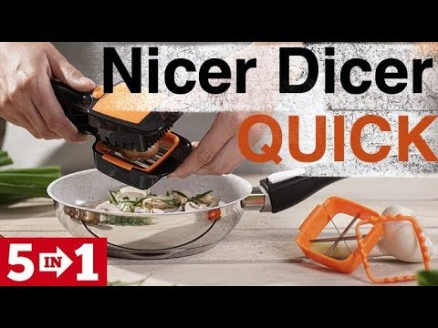 Новинка 2018! Nicer Dicer Quick 5 in 1