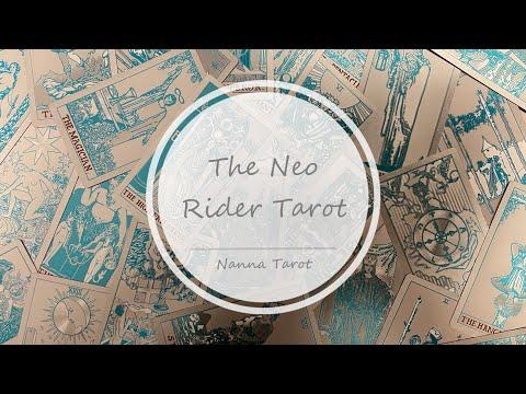 開箱  新世紀韋特塔羅牌-玫瑰金 • The Neo Rider Tarot // Nanna Tarot
