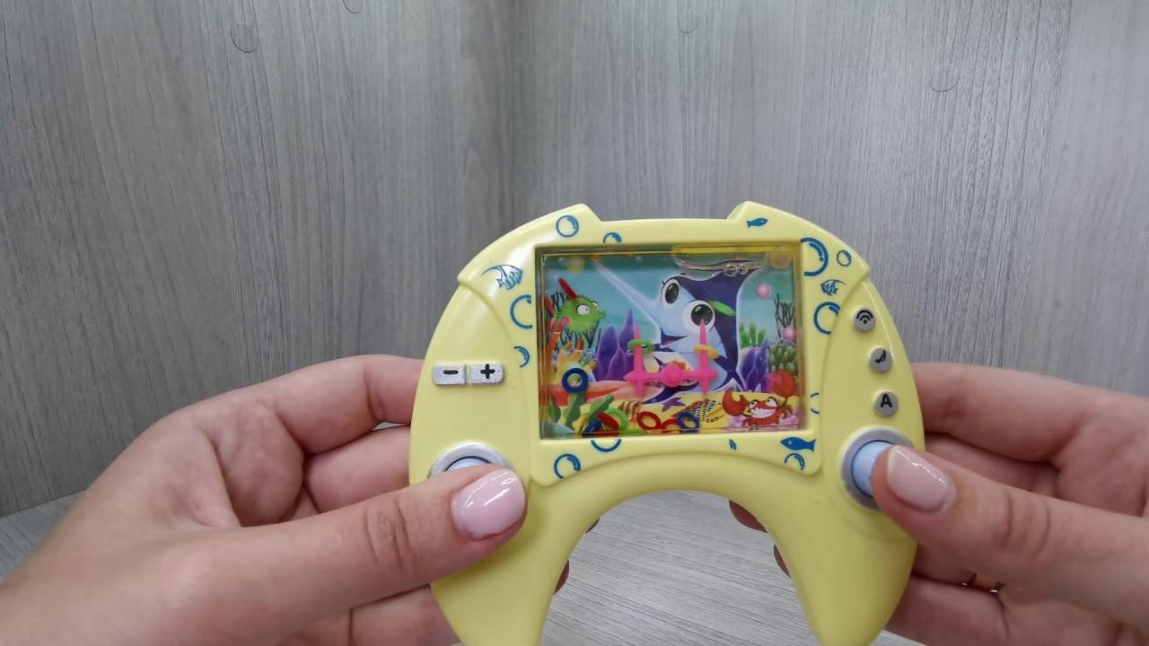 Привет из 90-х. Игра с водой и кольцами - YouTube