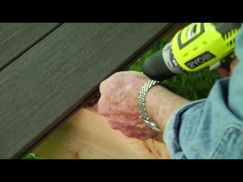 Using PVC for Decking Material