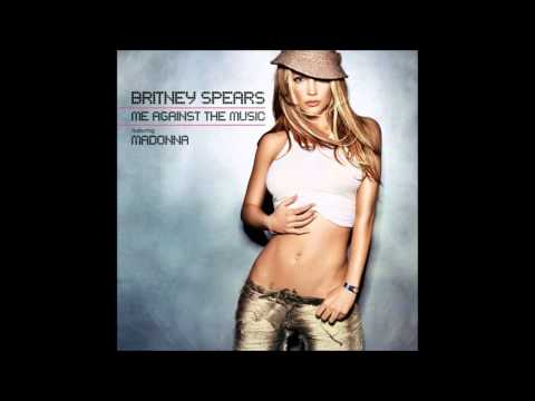 Britney Spears - Me Against the Music (Glee Version) (Instrumental)