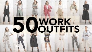 50 EASY WORK OUTFIT IDEAS