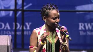 Teta performs at Rwanda Day in Amsterdam