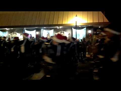 Christmas parade in Fort Payne, Alabama