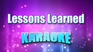 Lawrence, Tracy - Lessons Learned (Karaoke version with Lyrics)