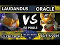 The Big House 4 - Laudandus (Sheik) Vs. Oracle (Fox) - Pools Round 1 - SSBM