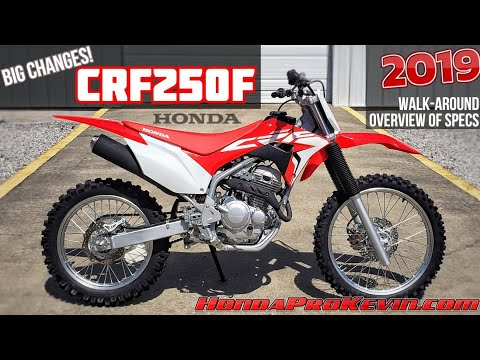 NEW 2019 Honda CRF250F Review / Specs | Changes to CRF230F