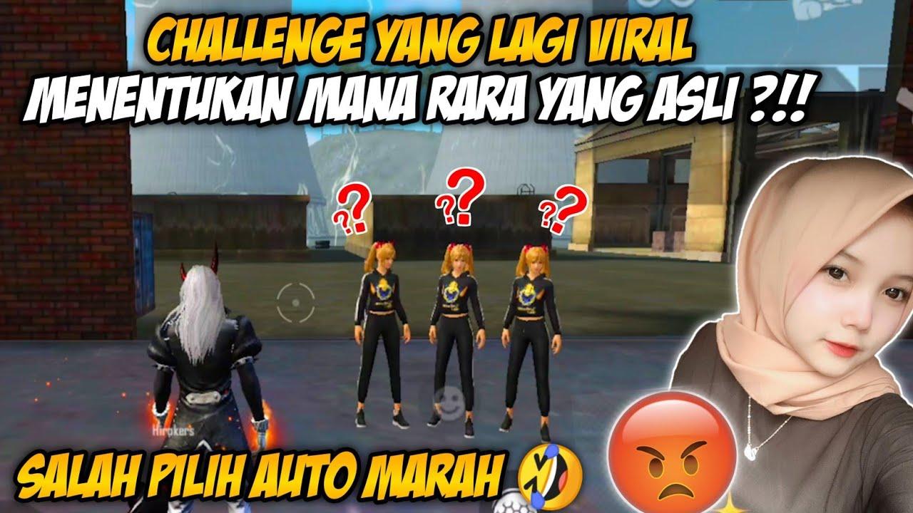 CHALLENGE YANG LAGI VIRAL DI TIKTOK BARENG RARA !! GARA GARA INI RARA LANGSUNG NGAMBEK !!