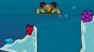 How to get the big pearl on aqua grabber Club Penguin