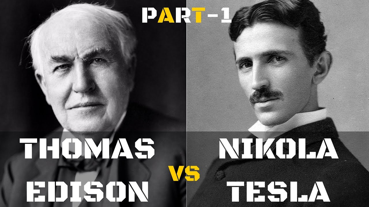 ผลการค้นหารูปภาพสำหรับ nikola tesla and thomas edison