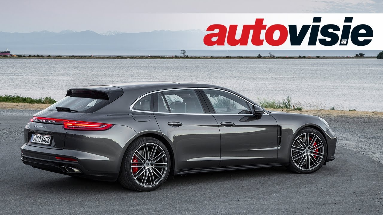 Review Porsche Panamera Sport Turismo 2017 By Autovisie Tv