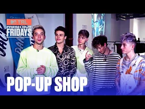 Why Don't We Gives A Private Tour Of Their Pop-Up Shop   #MTVFreshOut