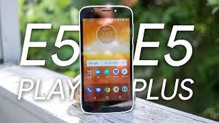 Moto E5 Play and E5 Plus Review