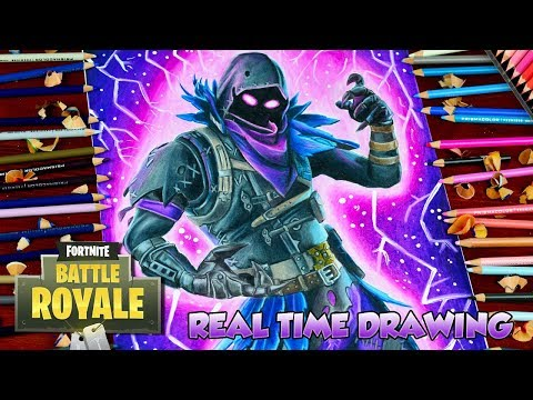 Drawing Tutorial How To Draw Fortnite Battle Royale Raven Artist