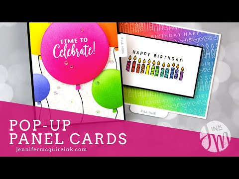 Pop-Up Panel Cards + Video Hop