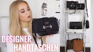 MEINE DESIGNER HANDTASCHEN / Chanel, YSL, Prada, MCM, LV