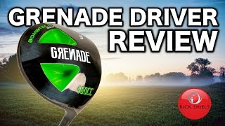 GRENADE GOLF DRIVER REVIEW
