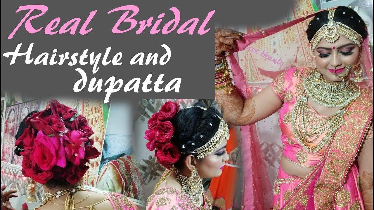 real bridal dupatta setting 2018 ||in hindi
