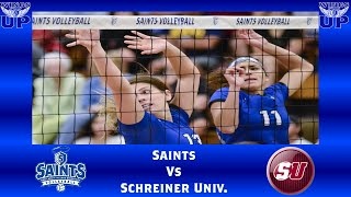 OLLU Volleyball vs. Schreiner University