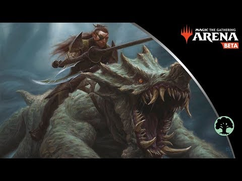 Pelt Collector Mono Green Stompy Aggro MTG Arena Gameplay and Deck Tech