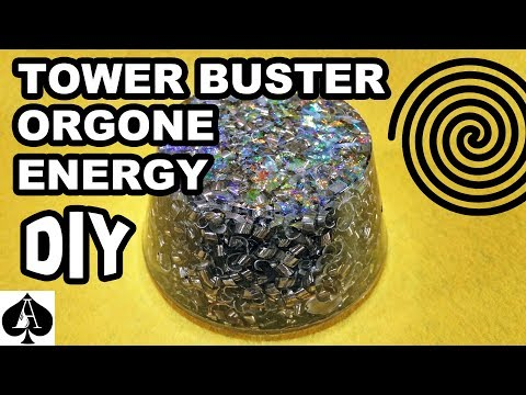 Making an Orgonite Tower Buster with Polyester Resin