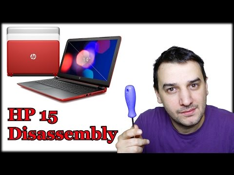 How to Open and Clean HP 15
