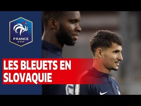 Les Bleuets en Slovaquie I FFF 2019