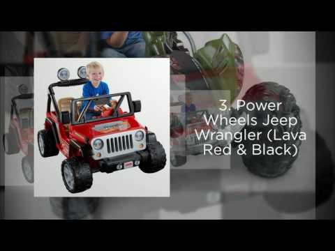 Best Electric Ride-On Cars for Kids - 2016 Spring and Summer Top 5 List