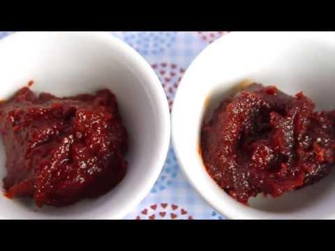 Cara membuat bumbu pengganti gochujang   substitute for gochujang (ENG SUB)