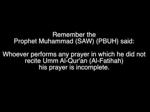 Surah 001-Al-Fatihah