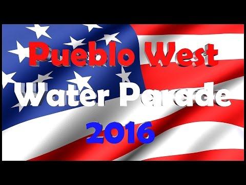 Pueblo West Water Parade 2016 by Blue Dream Aerial